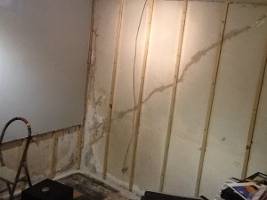 Walls gone