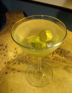Ted's Half Sour Pickletini
